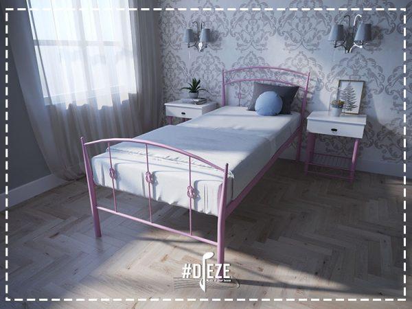 Кровать металл ля девочки