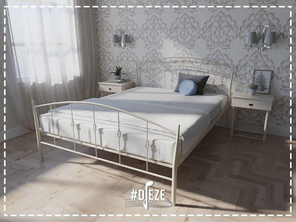 Кровать двухспальная железная