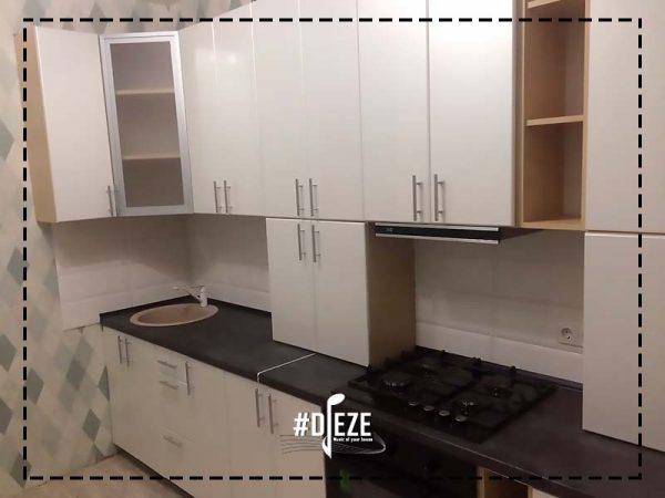 Кухня перламутр гланец