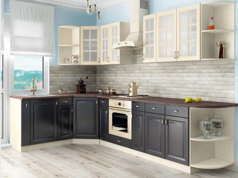 Кухня прямая премиум Киевский стандарт